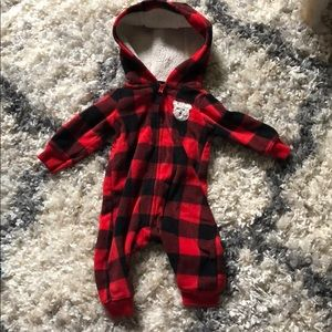 Carter's flannel Outfit